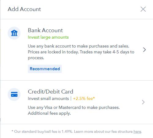 add account coinbase