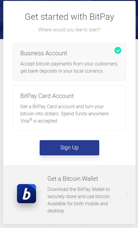 Accept Bitcoin as A Business Payment