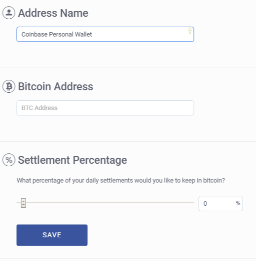 Add Bitcoin Wallet BitPay